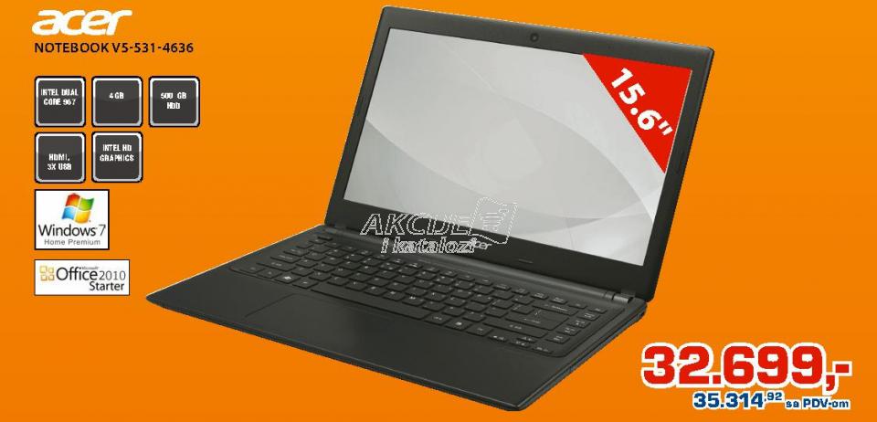Laptop V5-531-4636