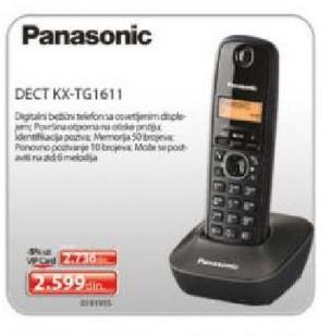 Bežični telefon KX-TG1611