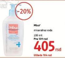 Mineralna voda za lice Mixa