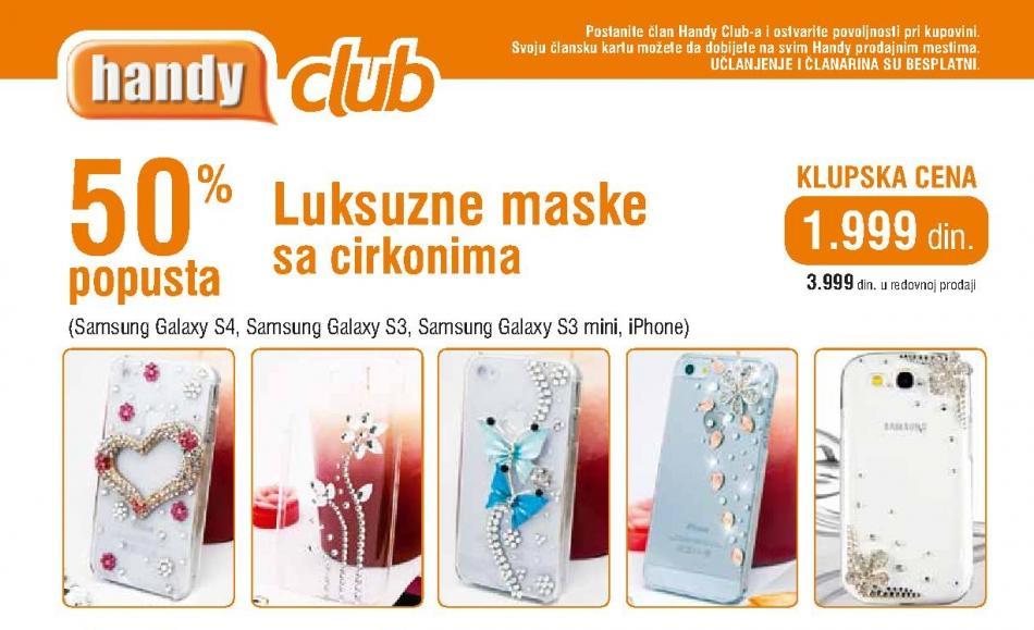 Luksuzne maske sa cirkonoma Klupska cena