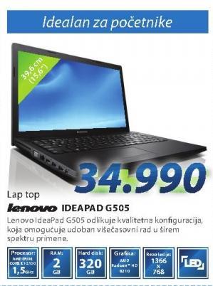 Laptop Ideapad G505