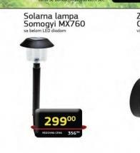 Solarna lampa Somogyi MX 760