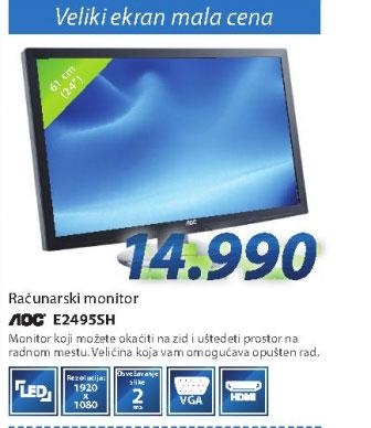 Računarski monitor E2495SH