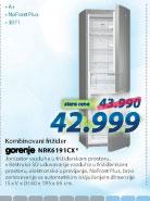 Frižider kombinovani NRK6191CX
