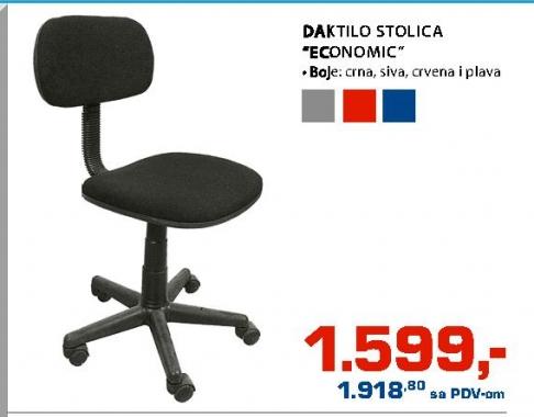 "Daktilo stolica ""Economic"""