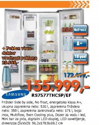 Frižider RS7577THCSP/EF