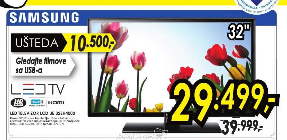 Televizor LED UE-32EH4000