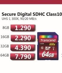 Secure Digital SDXC Class10 16GB