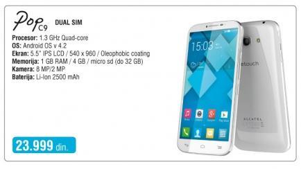 Mobilni telefon Onetouch Pop C9