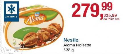 Sladoled noisette