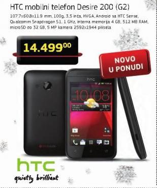 Mobilni telefon Desire 200 G2
