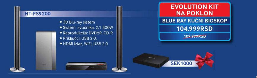 3D Blu-ray sistem HT-FS9200