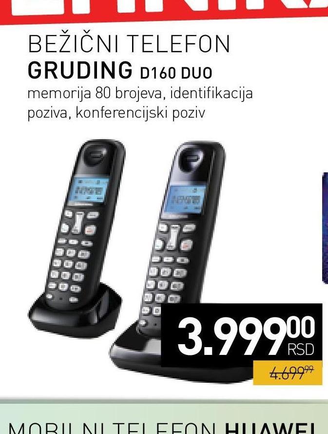 Telefon duo D160