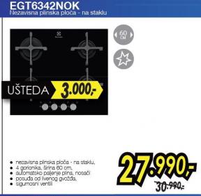 Ugradna ploča EGT 6342 NOK