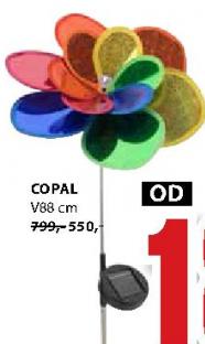 Solarna lampa Copal
