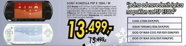 Konzola PSP E 1004/W