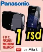 Bežični telefon 2 u 1