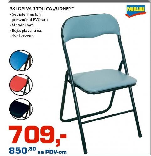 """Sklopiva stolica """"SIDNEY"""""""