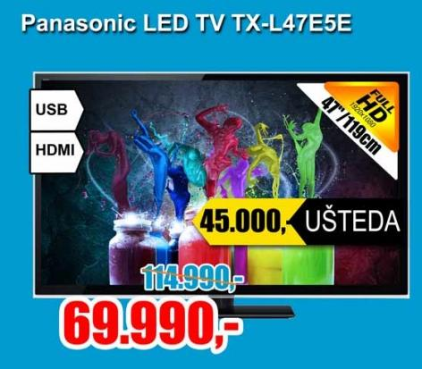 Televizor LED TV TX-L47E5E