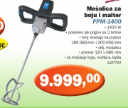 Mešalica za boju i malter FPM-1400