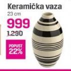 Vaza keramička