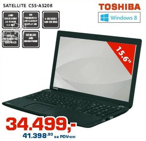 Laptop Satellite C55-A5208