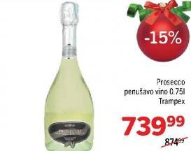 Penušavo vino Prosecco