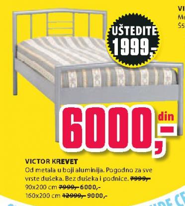 Krevet Viktor, 90x2000cm