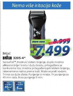 Aparat za brijanje 320s-4