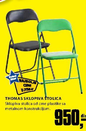 Sklopiva stolica Thoma