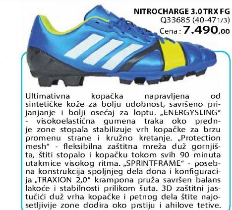 Fudbalske kopačke Nitrocharge 3,0 TRX FG