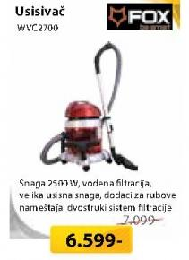 Usisivač Wvc 2700