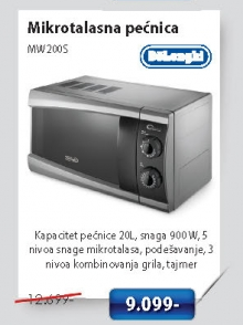 Mikrotalasna Rerna Mw 200S
