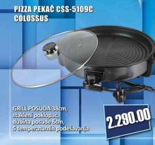 Pizza pekač CSS-5109c
