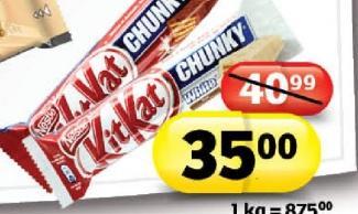 Čokoladica Chunky White