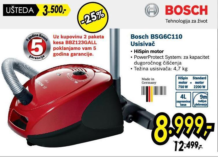 Usisivač Bsg6C110
