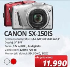 Digitalni Fotoaparat SX-150IS