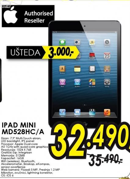 Tablet iPad mini, MD528HC/A