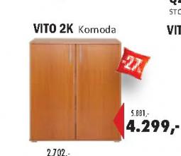 Komoda VITO  2K