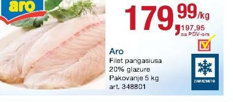 Smrznuta riba pangasius filet