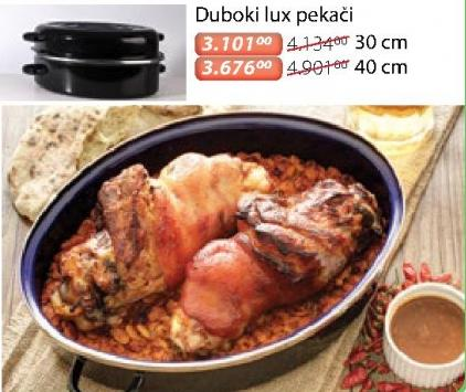 Duboki Lux Pekač 40cm