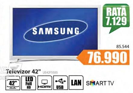 Televizor LED Smart UE42F5500