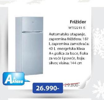 Frižider WTE2211 IS