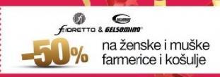50% popust u radnji  Fioretto & Gelsomino