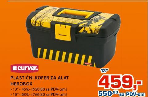 Plastični kofer za alat HEROBOX 13''