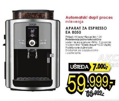 Aparat za espresso Ea 8050 Krups