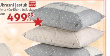 Jastuk ukrasni više boja 40x40cm