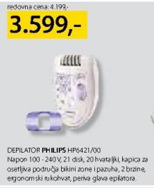 Depilator HP6421/00