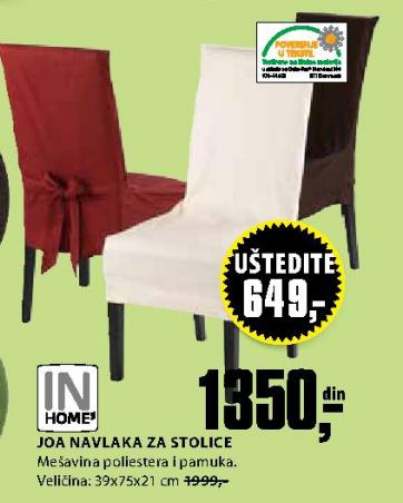 Navlaka za stolice Joa