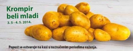 Krompir beli mladi